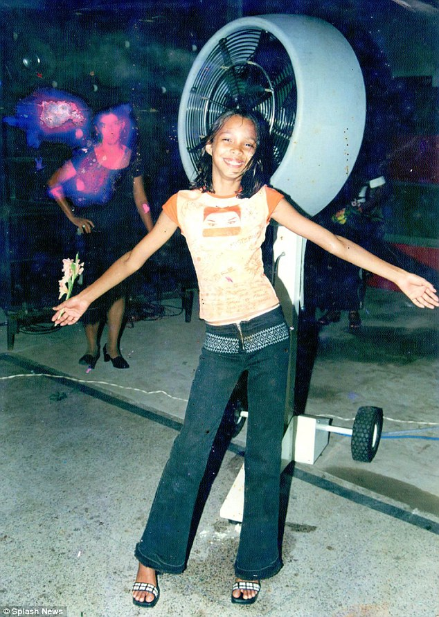 Rising star: Lais was a shy tomboy who never considered being a model until she was 18-years-old